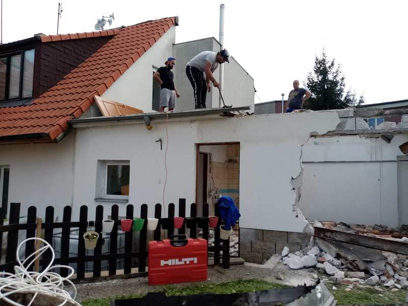Demoliční práce a demoliční práce Praha a střední Čechy